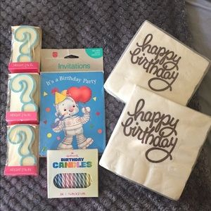 Birthday items